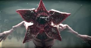 The Demogorgon from the show 'Stranger Things'